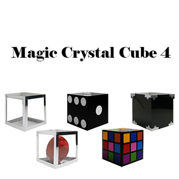 Magic Crystal Cube 4 by Tora Magic - Zaubertrick