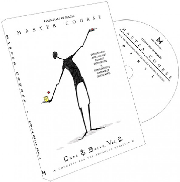 Master Course Cups and Balls Vol. 2 by Daryl - DVD