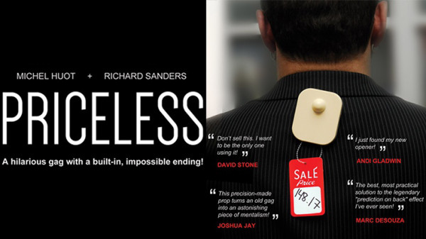 Priceless by Michel Huot and Richard Sanders - Zaubertrick