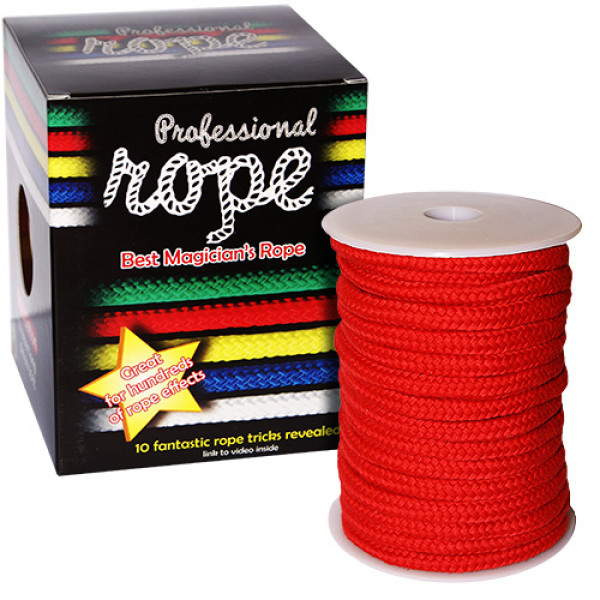Zauberseil Rot - Professional Rope - 100% Cotton
