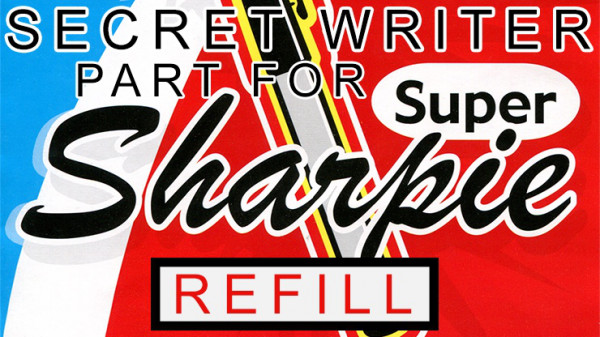 Secret Writer Part für Super Sharpie (Refill) by Magic Smith - Ersatz