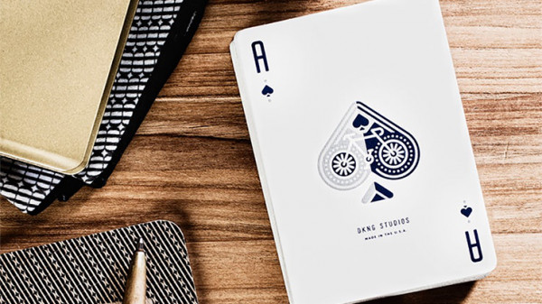 Wheel Playing Cards by Art of Play - Blau - Pokerdeck