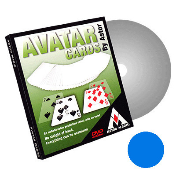 Avatar Cards by Astor - Blau - Bicycle