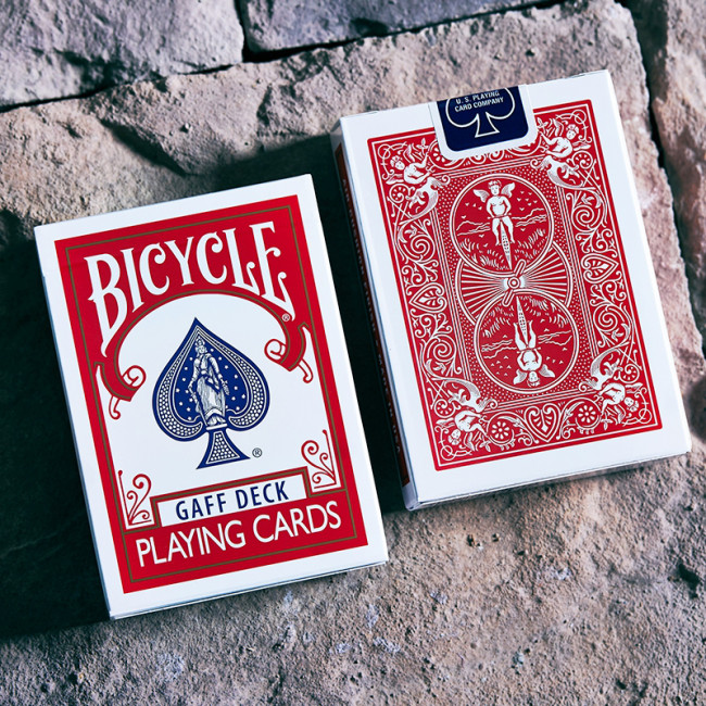 Bicycle Glory Gaff Deck - Rot - Trickkarten