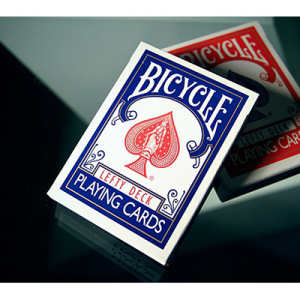 Bicycle Lefty Deck - blau - Kartenspiel für Linkshänder