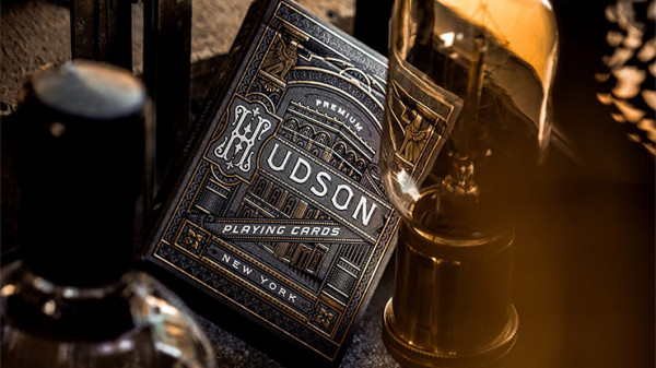 Black Hudson Playing Cards by Theory11 - Pokerdeck