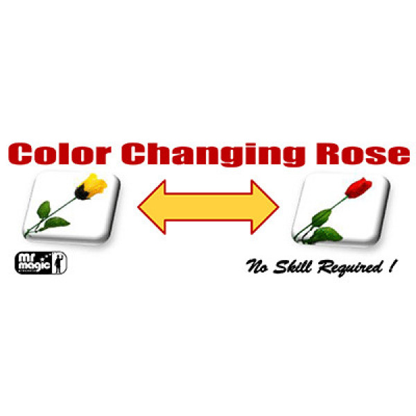 Color Changing Rose - Zaubertrick