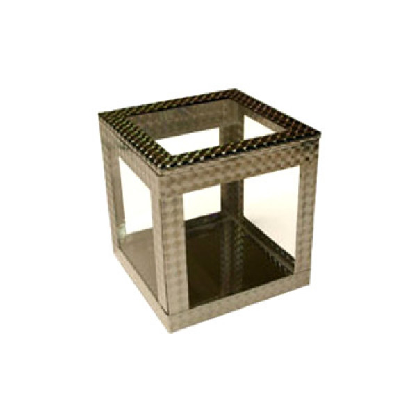 Crystal Spring Cube - 6 Zoll - Cabinet Illusion by Ickle Pickle