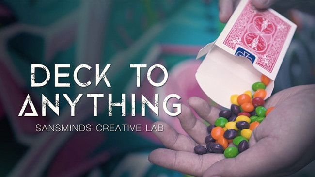 Deck To Anything by SansMinds Creative Lab - Kartentrick