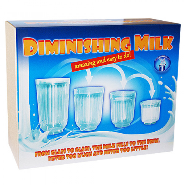 Diminishing Milk Glasses - Di Fatta - Zaubertrick