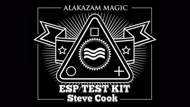 ESP Test Kit (Gimmicks and Online Instructions) by Steve Cook - Mentaltrick