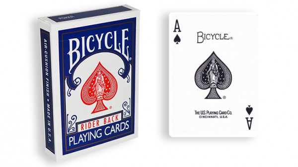 Force Deck - Blau - Pik Ass - Bicycle Forcierspiel - Forcing Cards - Forcierkarten