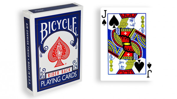 Force Deck - Blau - Pik Bube - Bicycle Forcierspiel - Forcing Cards - Forcierkarten
