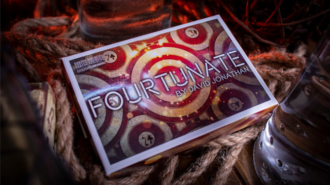 Fourtunate (Gimmicks and Online Instructions) by David Jonathan and Mark Mason
