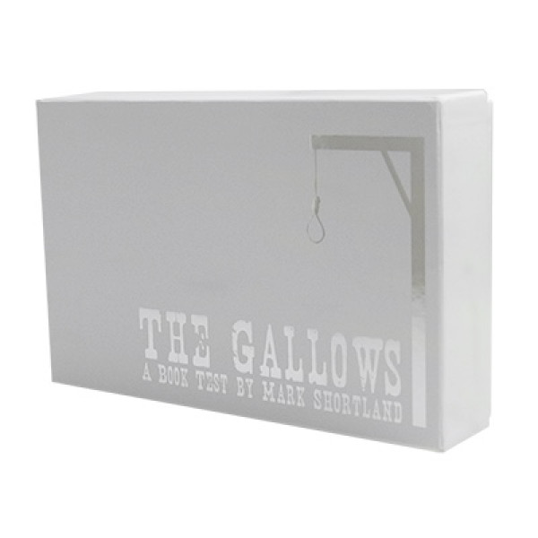 Gallows DVD and Gimmick by Mark Shortland and World Magic Shop - Zaubertrick
