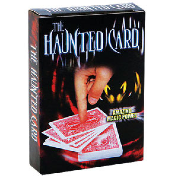 Haunted Card Gimmick - Rot - Kartentrick