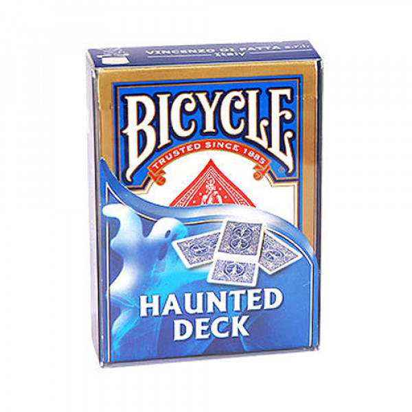 Haunted Deck Bicycle by Di Fatta - Blau - Kartentrick
