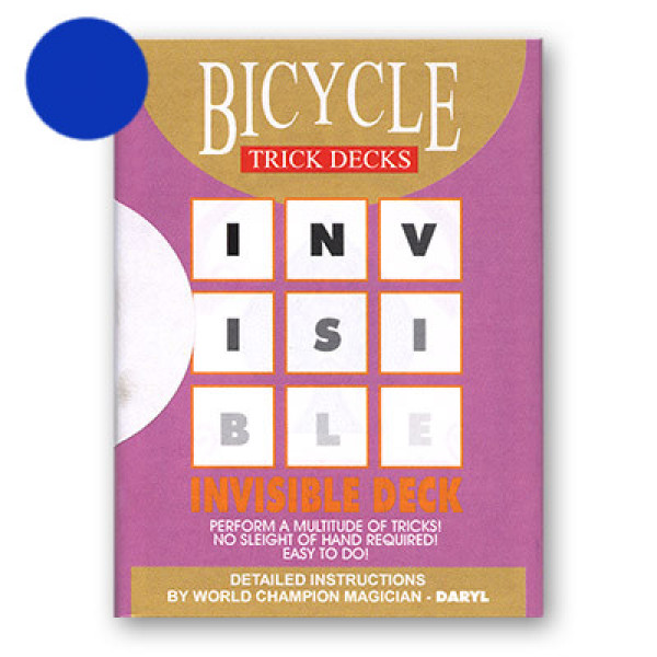 Invisible Deck Bicycle 809 Mandolin - Blau - Zaubertrick