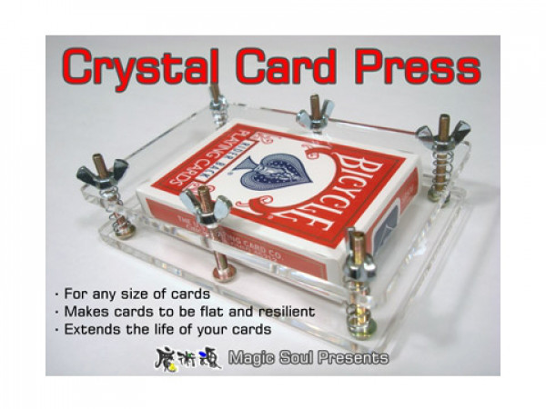 Crystal Card Press by Hondo und Fon - Kartenpresse