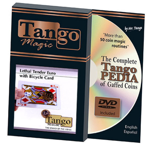 Lethal Tender (1 Euro - 50 Cent) Bicycle Card by Tango