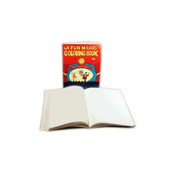 Magic Coloring Book BLANK by Royal Magic - Groß - Unpräpariertes Buch