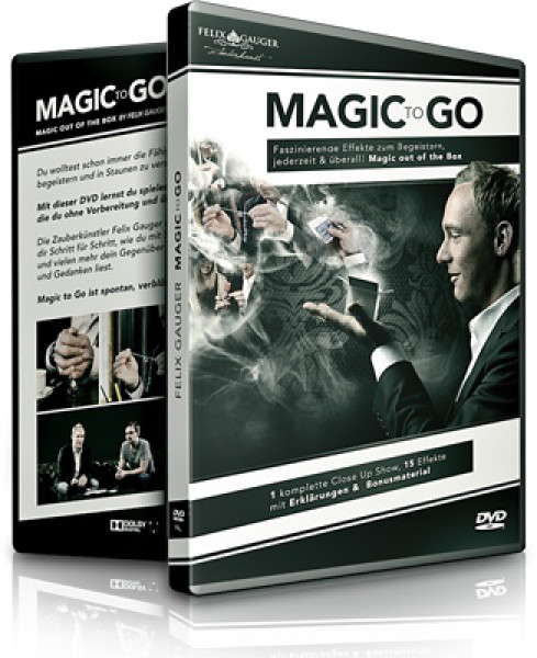 Magic to Go von Felix Gauger - 15 Zaubertricks - Deutsch