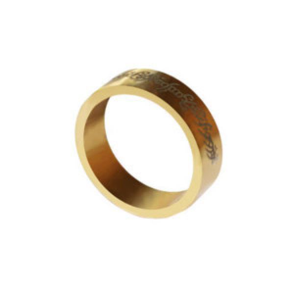 PK Ring - Magnetring - Gold - 20mm - Letters