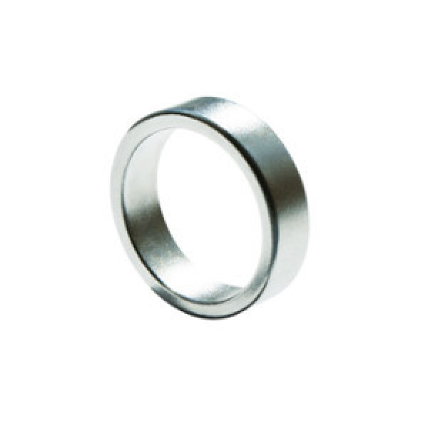 PK Ring - Magnetring Flach - 20mm - Silber