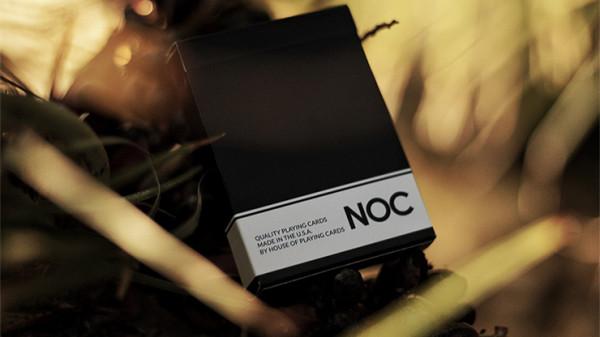 NOC Original Deck - Schwarz - Printed at USPCC by The Blue Crown