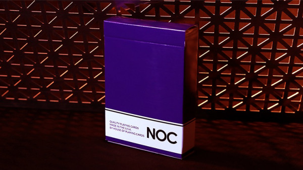 NOC Original Deck - Violett - Printed at USPCC by The Blue Crown