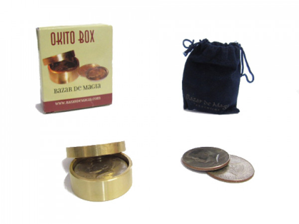 Okito Box (Half Dollar) by Bazar de Magia