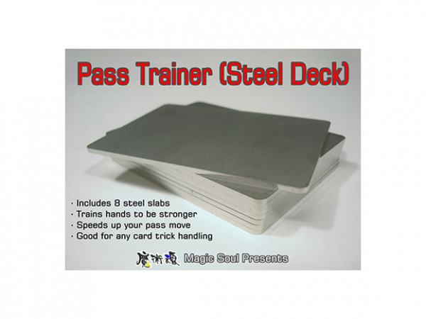 Pass Trainer - Steel Deck by Hondo