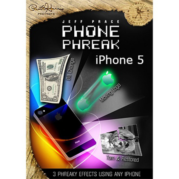 Paul Harris Presents Phone Phreak (iPhone 5) by Jeff Prace & Paul Harris