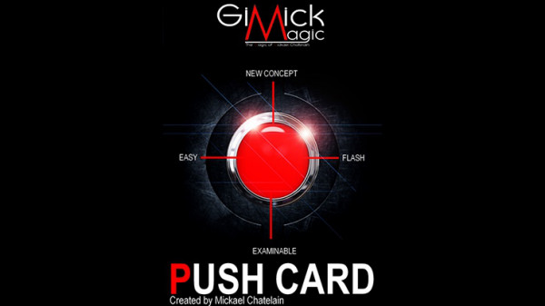 PUSH CARD by Mickael Chatelain - Deutsche Version