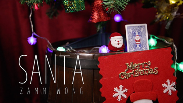 SANTA by Zamm Wong and Bone Lee - Kartentrick