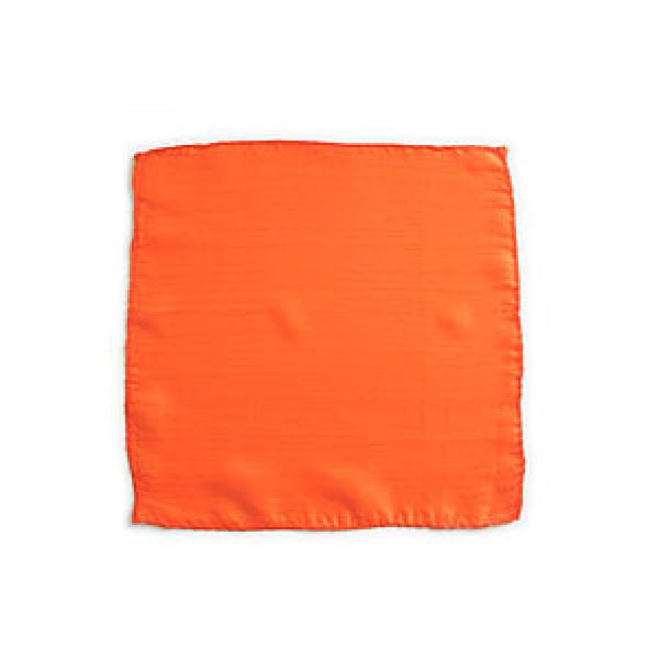 Seidentuch - Orange - 45 cm