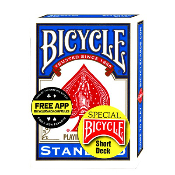 Bicycle Short Deck - Blau - Kurze Spielkarten
