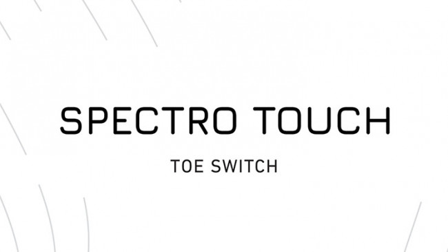 Spectro Touch Toe Switch by João Miranda and Pierre Velarde - ERWEITERUNG