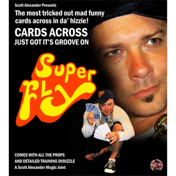 Super Fly All Gimmicks and DVD by Scott Alexander - Zaubertrick