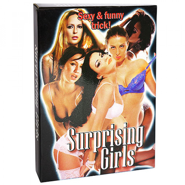 Surprising Girls Jumbo - Kartentrick