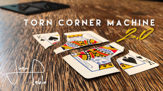 Torn Corner Machine 2.0 (TCM) by Juan Pablo - Kartenrestauration