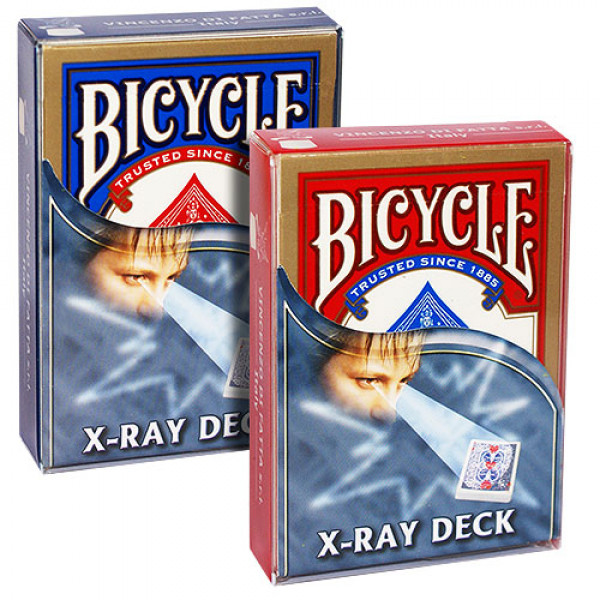 X Ray Deck - Rot - Bicycle - Kartentrick