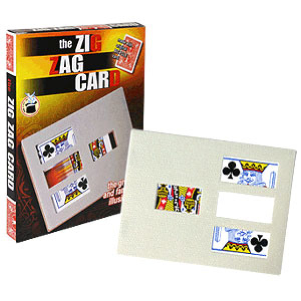 Zig Zag Card - Bicycle - Kartentrick