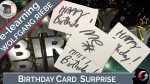 Birthday Card Surprise by Wolfgang Riebe - Video - DOWNLOAD