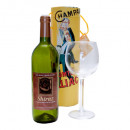 Airborne Wine and Glass by Visual Magic - Schwebendes Weinglas - Zaubertrick