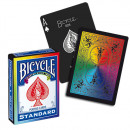 Bicycle Rainbow Black - Pokerdeck