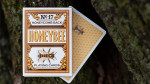 Honeybee V2 Playing Cards Yellow - Pokerdeck