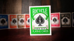 Bicycle Green Playing Cards by USPC - Grün Deck
