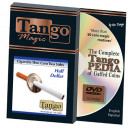 Cigarette Through Coin (Half Dollar - Two Sided) by Tango