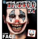 Tattoo - Clown Gesicht - Face Kit
